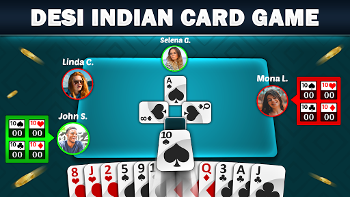 Mindi - Desi Indian Card Game Free Mendicot 9.6 screenshots 1