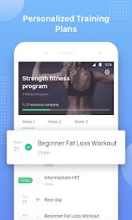 Keep Trainer - Workout Trainer & Fitness Coach 1.32.1 Screenshots 4