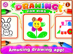 Bini Drawing for Kids! Learning Games for Toddlers screenshot thumbnail