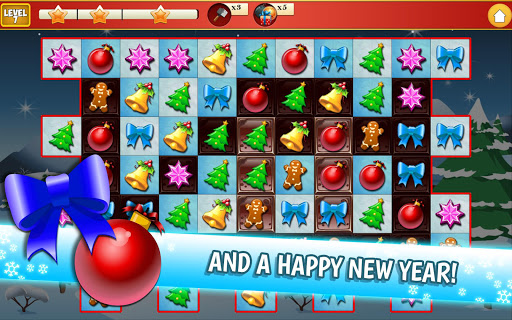 Christmas Crush Holiday Swapper Candy Match 3 Game 1.66 screenshots 24