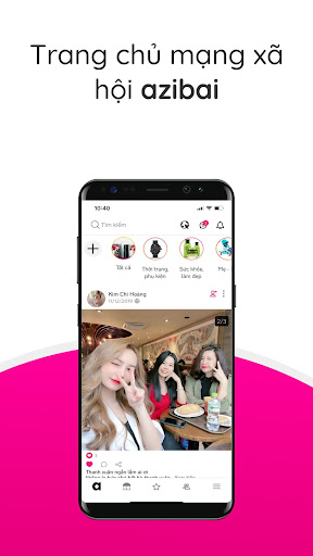 Azibai - Mu1ea1ng xu00e3 hu1ed9i kinh doanh apktram screenshots 1
