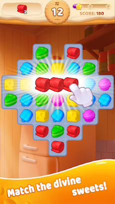 Sweet Crunch - Match 3 Gamesのおすすめ画像3
