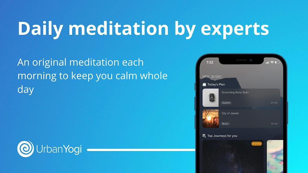UrbanYogi - Meditate, Sleep & Relax  poster 2