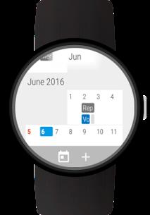 Wear OS için Takvim (Android Wear) 1