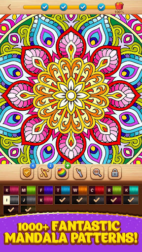 Cross Stitch Coloring Mandala 0.0.236 screenshots 11