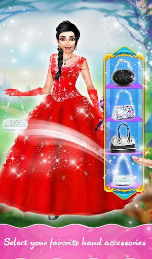 princess hair saloon design screenshot 2
