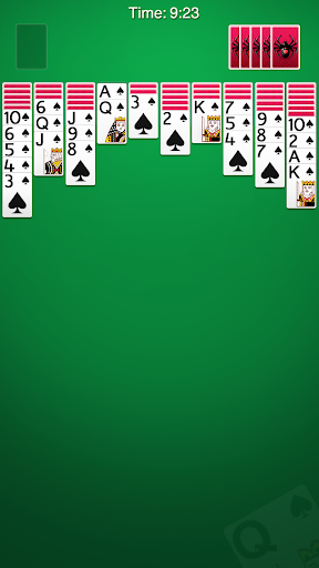 Spider Solitaire 2.9.501 screenshots 1