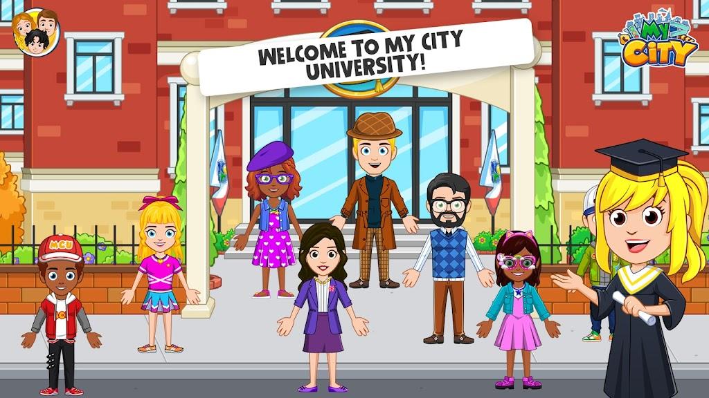 My City : University  poster 0