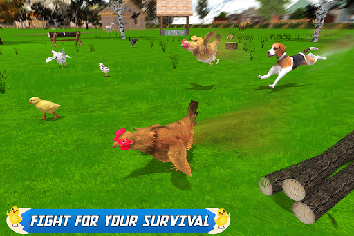 New Hen Family Simulator: Chicken Farming Games  screenshots 17