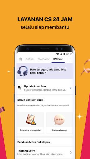 Mitra Bukalapak: Jual Pulsa, Token & Stok Warung