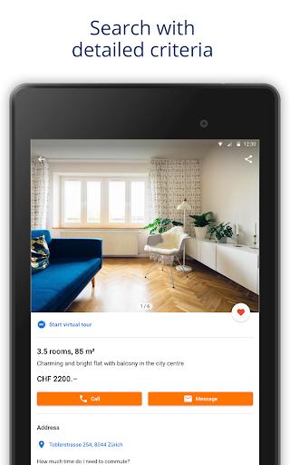 ImmoScout24 Switzerland u2013 Rent a flat, buy a house 4.10.5 Screenshots 5