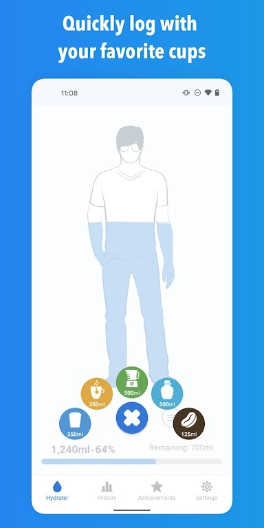 WaterMinder - Water Tracker and Drink Reminder App  poster 3