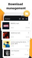 screenshot of Free video downloader app, download video -AhaSave
