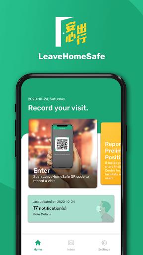 LeaveHomeSafe 1.1.9 screenshots 1