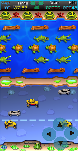 Frogger Arcade Super! : Classic 1980's Retro Fun!  screenshots 1
