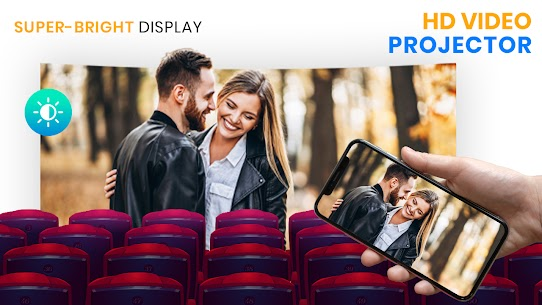 HD Video Projector Simulator – Mobile Projector Apk app for Android 4