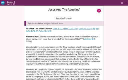 SDA Sabbath School Quarterly 5.0.231 Screenshots 11