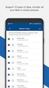MobileTrans - Copy Data to Android Screenshot