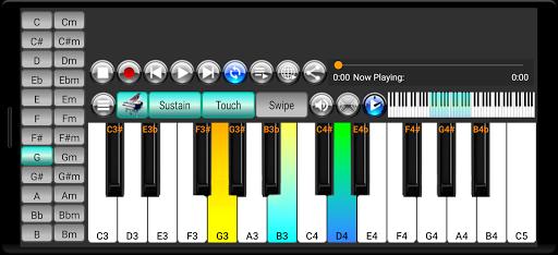 Strings and Piano Keyboard android2mod screenshots 1