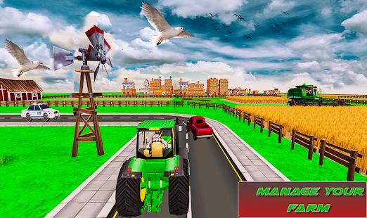 Mega Tractor Simulator - Farmer Life 2019 1.0.2 Screenshots 9