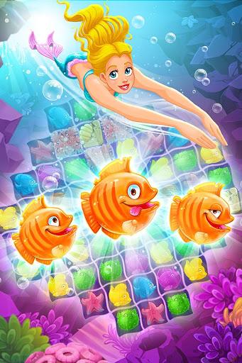 Mermaid - treasure match-3 2.42.0 screenshots 4