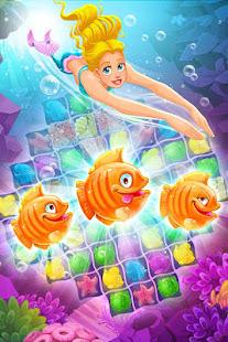 Mermaid - treasure match-3 Image 4