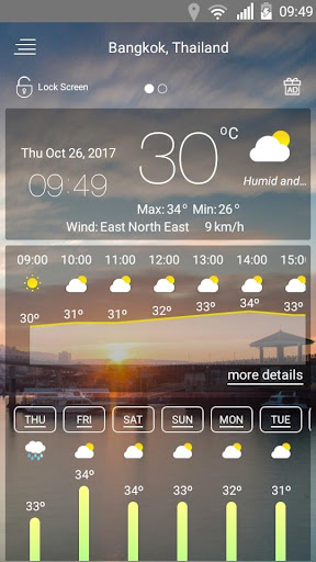 Weather forecast 69 Screenshots 11