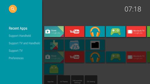 halauncher - android tv screenshot 1