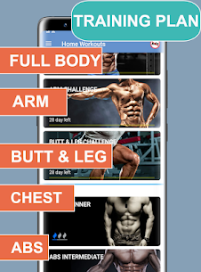 Home Workouts Mod Apk No equipment – Lose Weight Trainer (Premium) 5