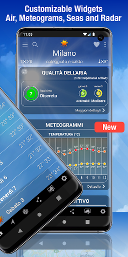 The Weather: weather forecast by iLMeteo  screenshots 2