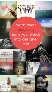 Word Swag - 2018 Classic Edition Screenshot