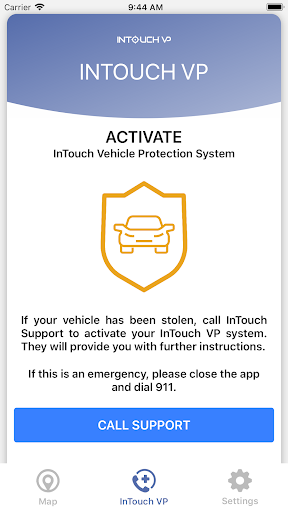 Foto do InTouch Vehicle Protection