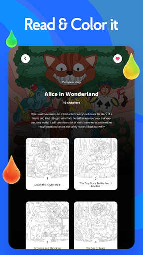Painting games: Adult Coloring Books, Drawings 2.1.0 screenshots 23
