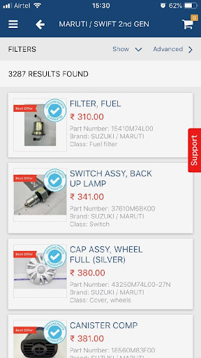 boodmo - Spare Parts for CARS in India 5.3.1 Screenshots 3