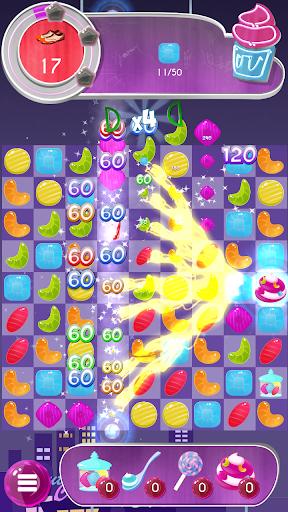 tasty candy cafe: match 3 game screenshot 1
