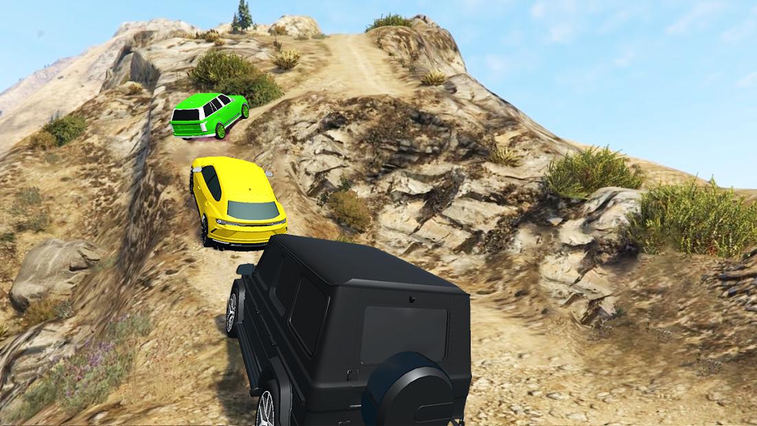 Offroad SUV Jeep Driving Racing Car Games 2021 screenshot 2