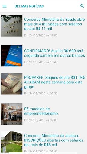 Notu00edcias Concursos android2mod screenshots 4