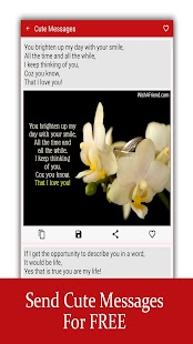 Love Messages for Girlfriend ♥ Flirty Love Letters Screenshot