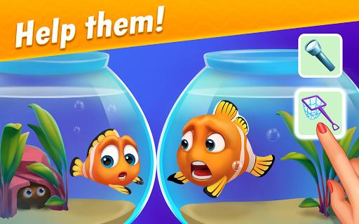 Fishdom modiapk screenshots 1