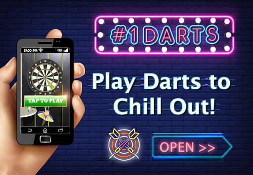 (JP Only) Darts and Chill: Free, Fun, Relaxing 1.702.2 screenshots 1