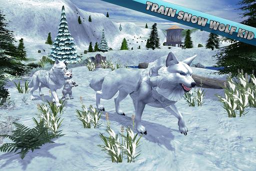 Arctic Wolf Family Simulator: Wildlife Animal Game 2.2 screenshots 7