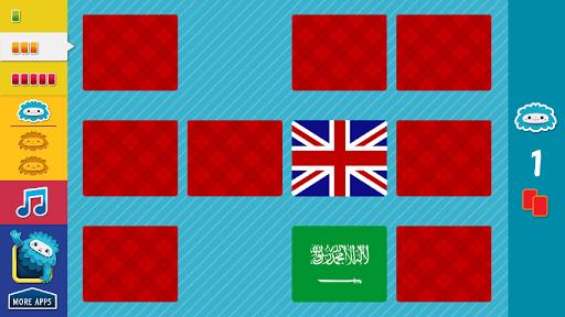 flags memory match screenshot 3