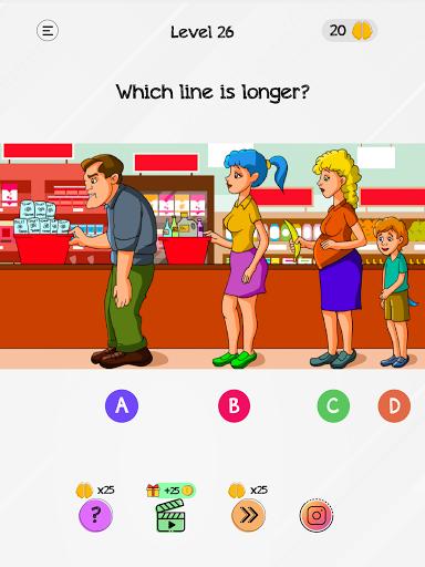 Braindom: Tricky Brain Teasers, Test, Riddle Games 1.4.1 Screenshots 11