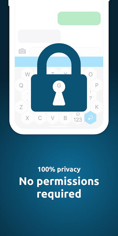 Offline Privacy Keyboard  poster 2