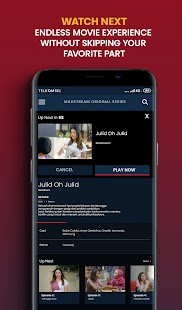 MAXstream- Live Sports, TV & Movies Screenshot