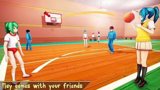 YUMI High School Simulator: Anime Girl Games  screenshots 4