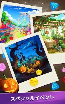 グミドロップ!– 3つのグミをそろえて世界を旅しながら観光地を再建するトラベル系マッチ3パズルゲームのおすすめ画像5