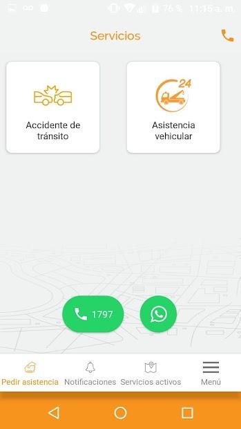 Screenshot 3 de Roble Asistencia para android
