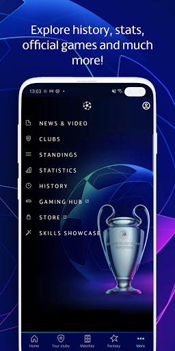 Champions League Official: news & Fantasy Football android2mod screenshots 6