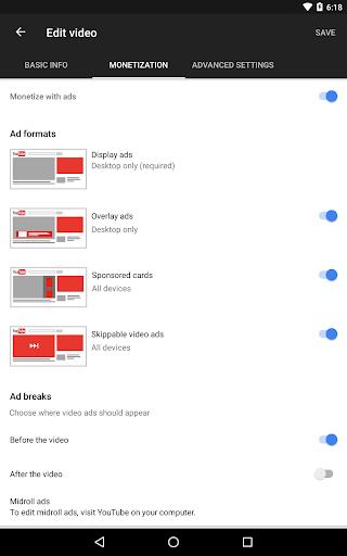 YouTube Studio 20.47.101 Screenshots 13